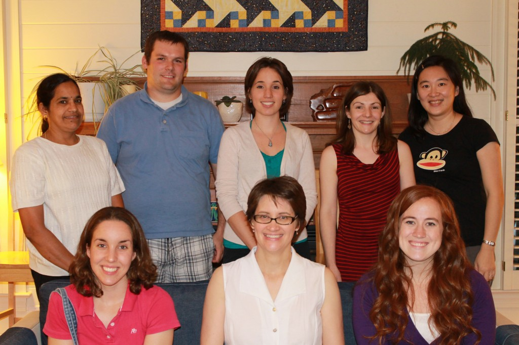 The Mohlke lab says goodbye to Marie